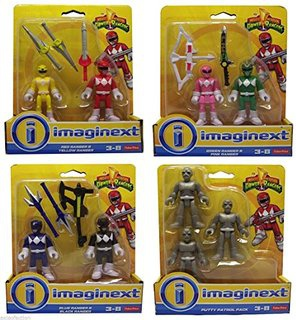 Imaginext Power Rangers Complete