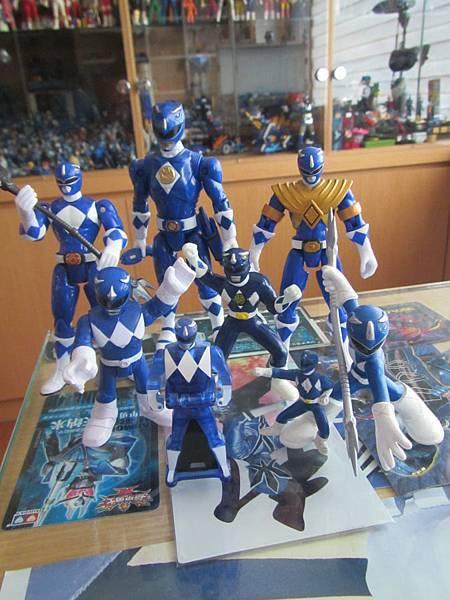 Blue Ranger/トリケラレンジャー