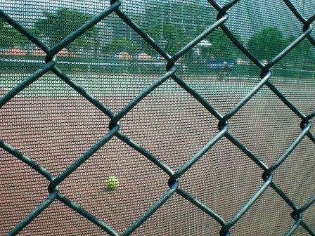 網球場內的比賽