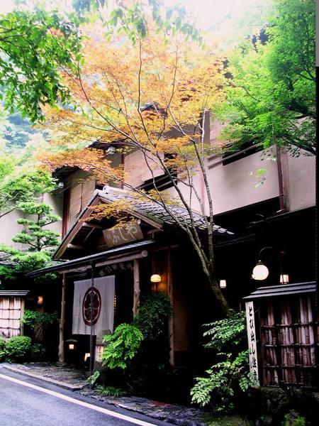 貴船神社前的餐廳