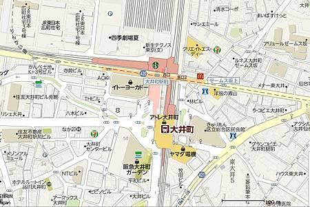 大井町地圖