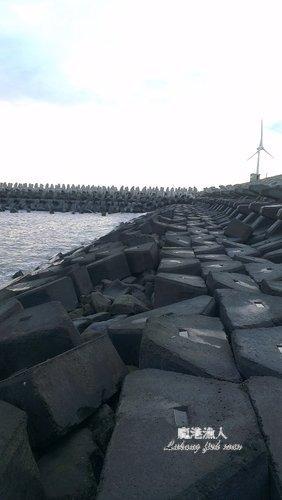 鹿港西堤釣點