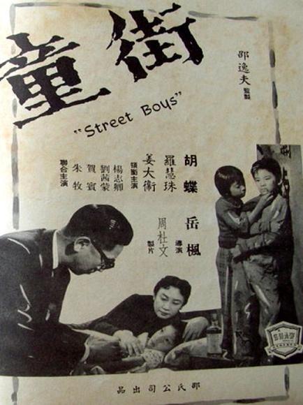 圖六:姜大衛與妹妹主演的國語片《街童》(1960),並分別改藝名為姜大衛、羅慧珠.jpg