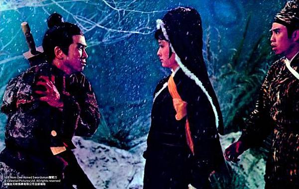 圖二:《獨臂刀》劇照,潘迎紫就是那個成就男主角獨臂的任性女人XD.jpg