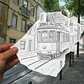 鉛筆畫VS攝影2