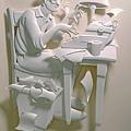 驚人的紙雕塑作品1
