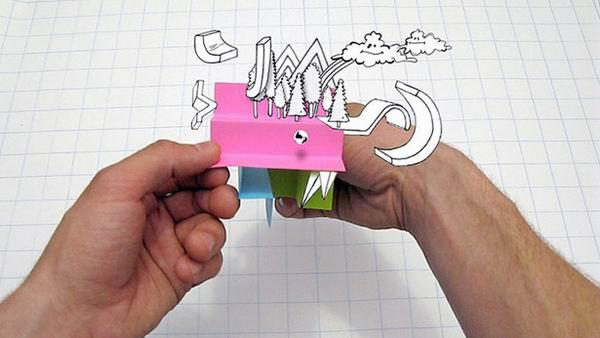 Julien Vallee 帶來的不可思議的紙工藝設2