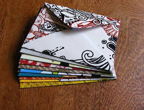 15個令你驚喜的信封設計1