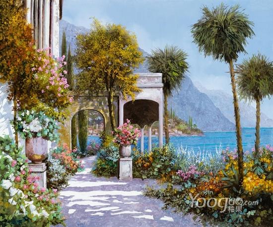 Guido Borelli油畫作品8