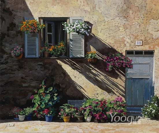Guido Borelli油畫作品7