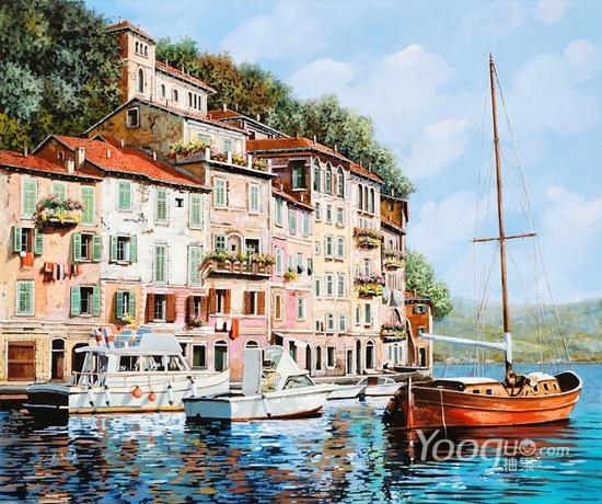Guido Borelli油畫作品6