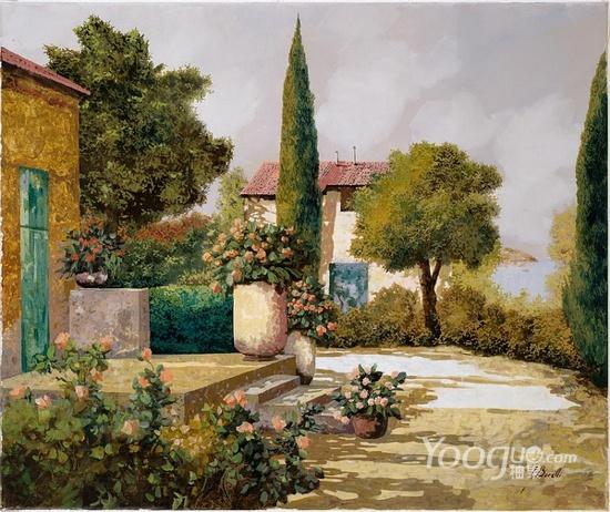 Guido Borelli油畫作品3