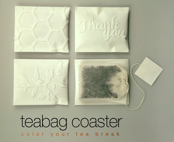 Teabag Coasters 茶包包裝設計1