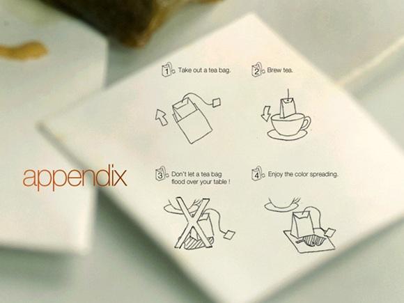 Teabag Coasters 茶包包裝設計3