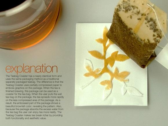 Teabag Coasters 茶包包裝設計2