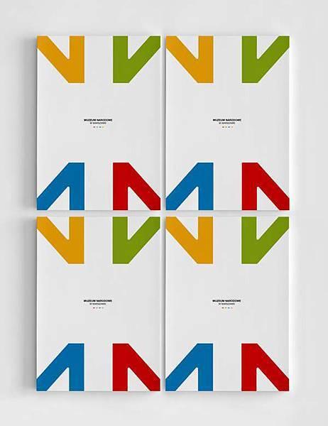 華沙國家博物館品牌形象設計6
