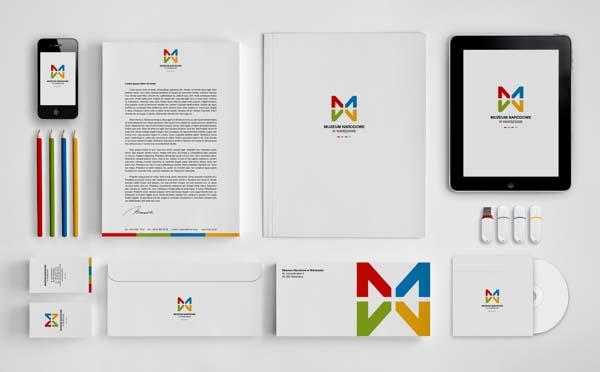 華沙國家博物館品牌形象設計3