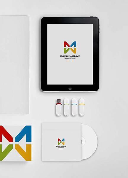 華沙國家博物館品牌形象設計5