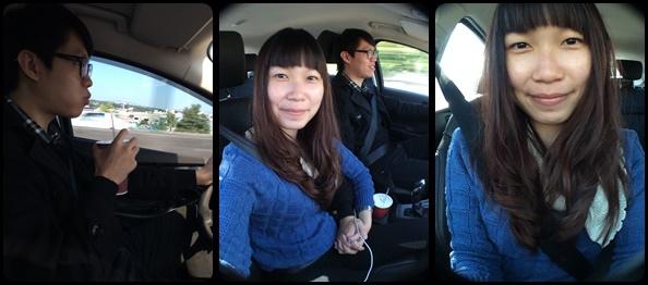 前往新竹的路上!!