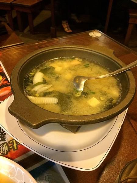 魚肉味噌湯$150