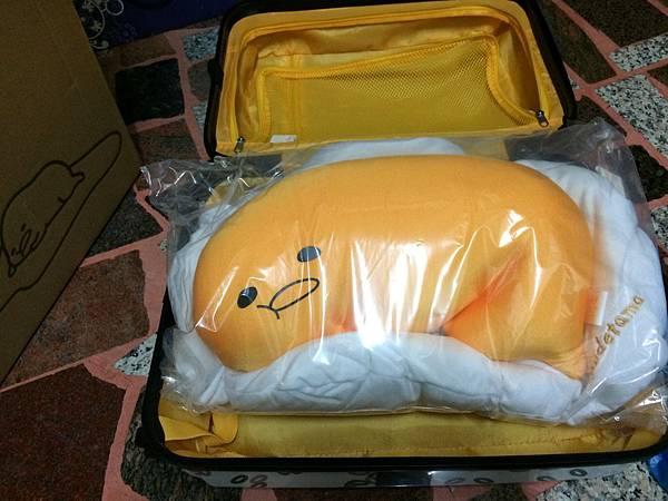 蛋黃哥抱枕