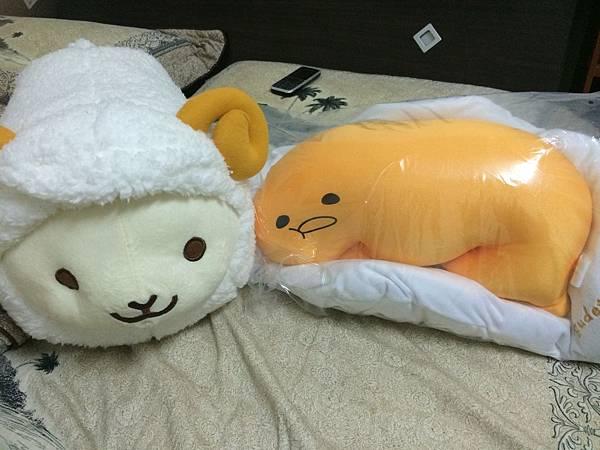 羊吉拉與蛋黃哥