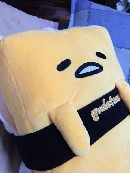 玉子燒款抱枕毯