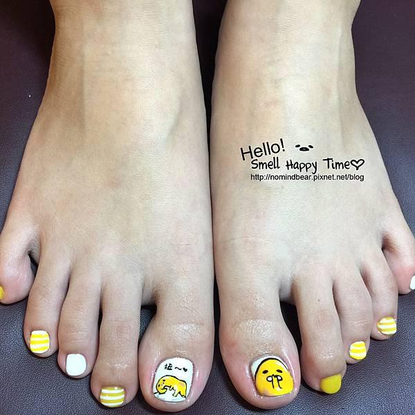 腳指甲也瘋蛋黃哥