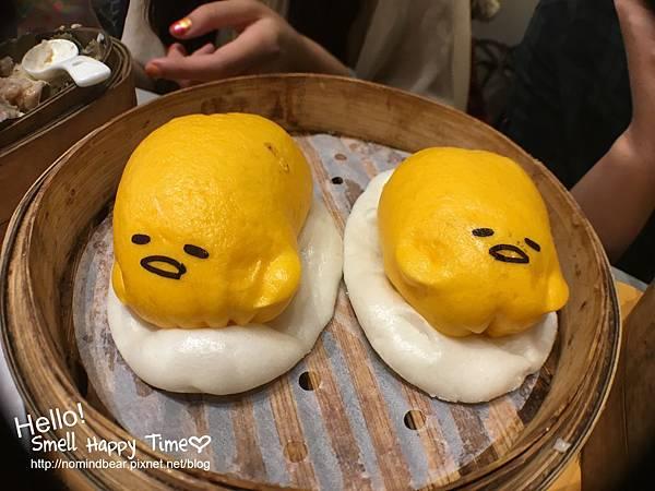 蛋黃哥流沙包