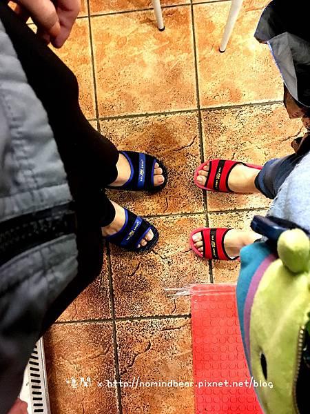 鞋子濕了買的拖鞋