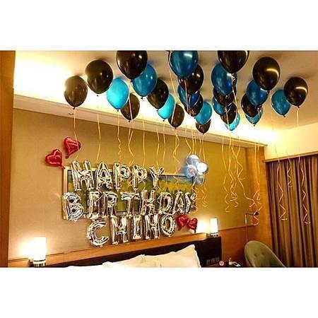 慶生氣球範例