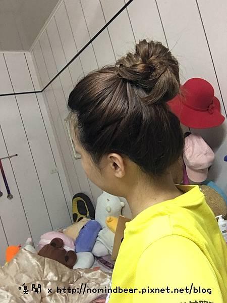 整理頭髮小撇步
