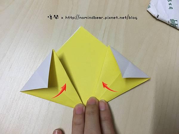 花朵摺紙教學
