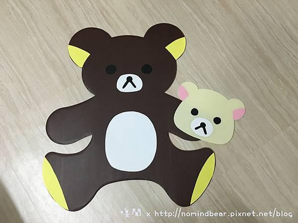 手工卡片作品分享-拉拉熊