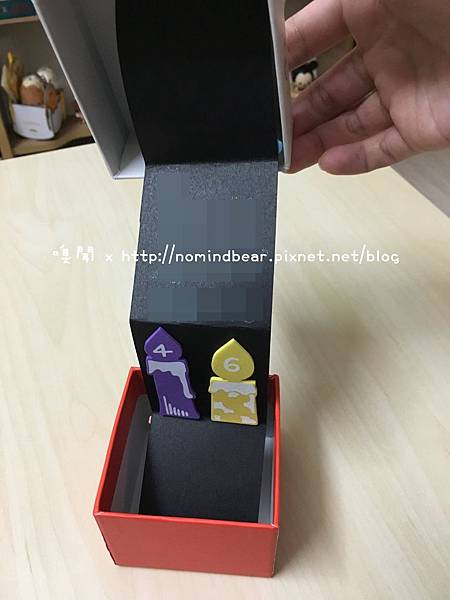 手工卡片作品分享-禮物盒