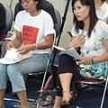南洋台灣姊妹會常務監事武玉貞發言
