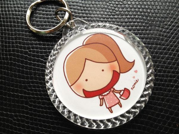HAPPY 鑰匙圈-圓款