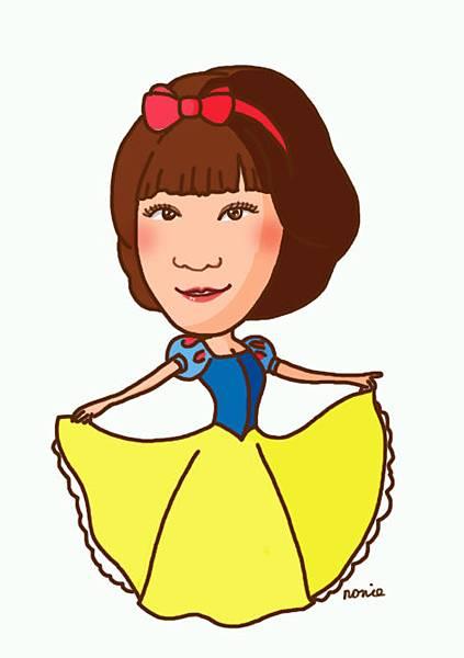 白雪公主-陳安琪友人