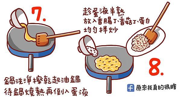 香腸炒飯5