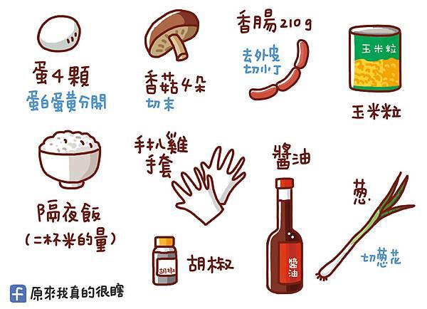 香腸炒飯1