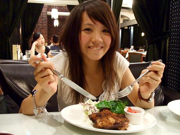 20100608 Skylark餐廳,是在自然什麼的