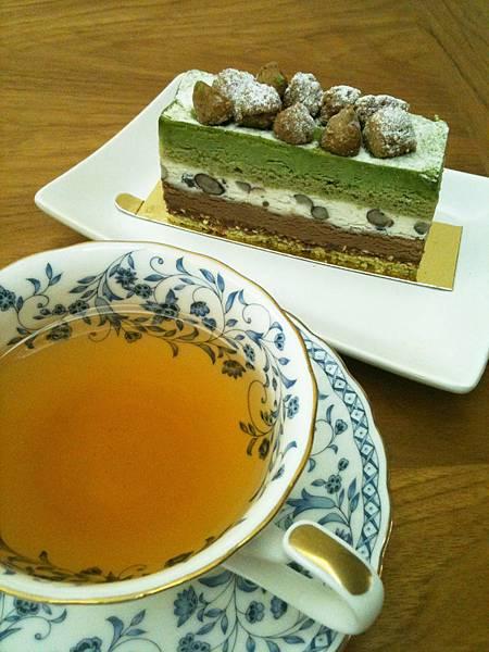 抹茶芭芭露亞&香瓜紅茶
