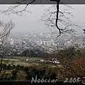 自修學院離宮遠眺京都市區