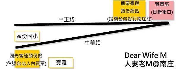 頭份站map