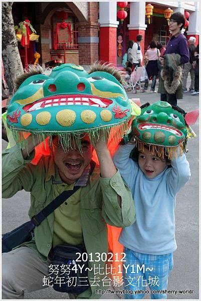 22-1020212大年初三外公外婆去台影文化城20