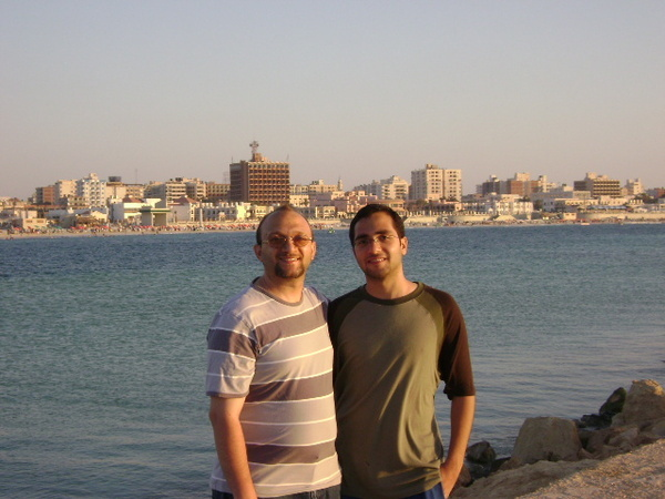 fathy and his brother