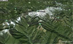 2012雪山大會師_GoogleEarth
