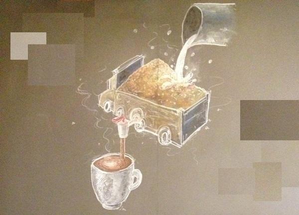 咖啡的代價