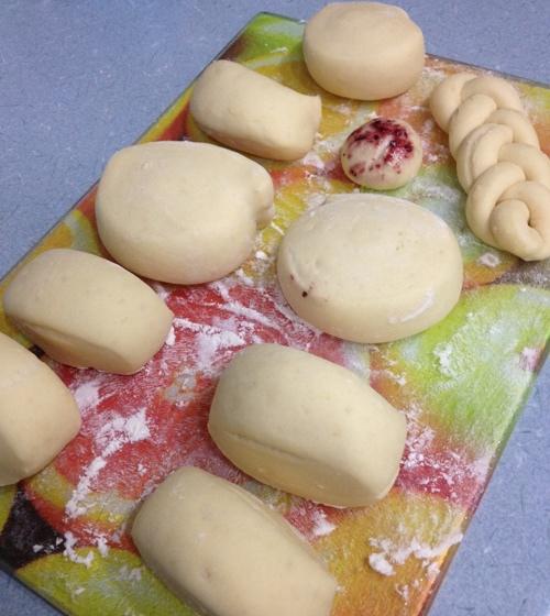 豆漿饅頭-塑形