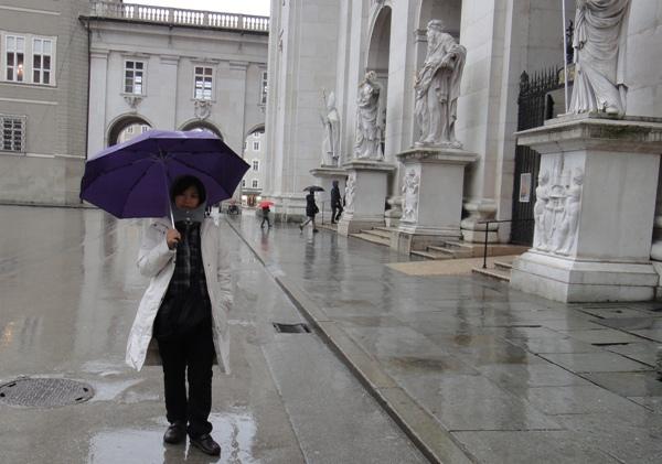 薩爾斯堡-雨中即景